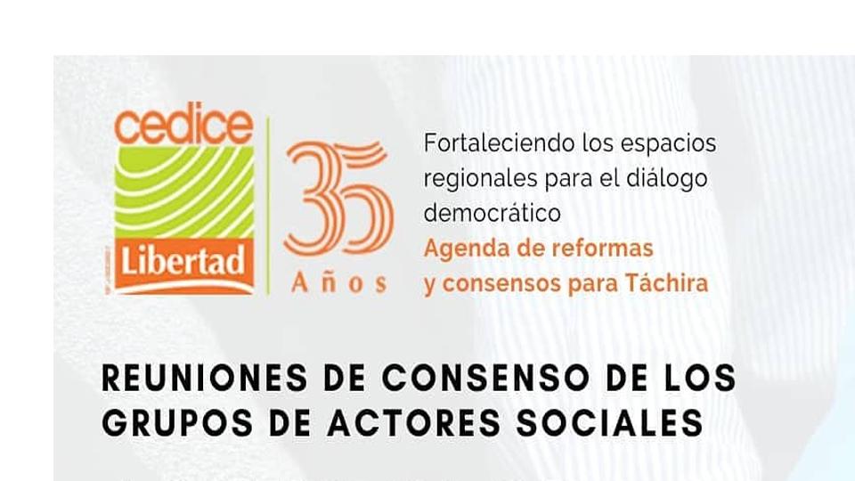 Agenda de Reformas y Consensos Táchira