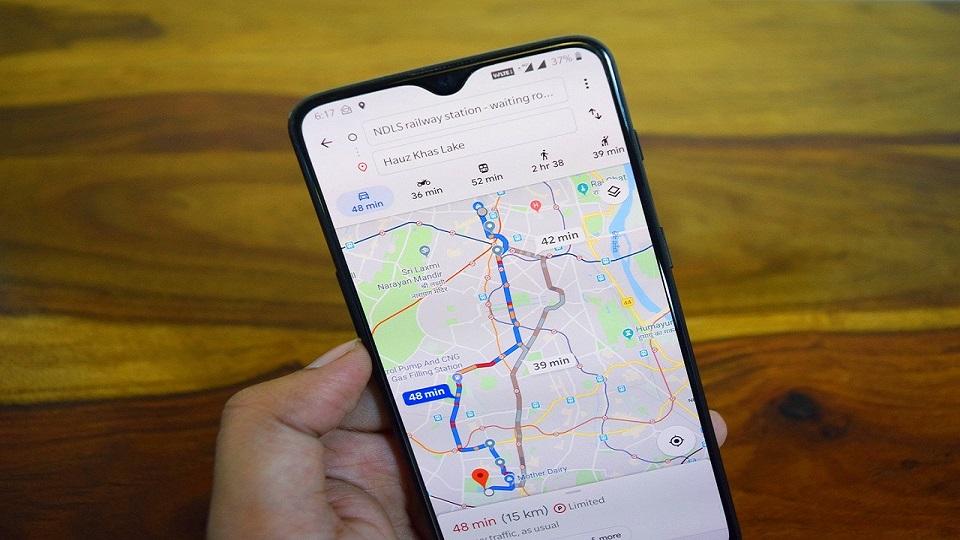 Google Maps - federadiove