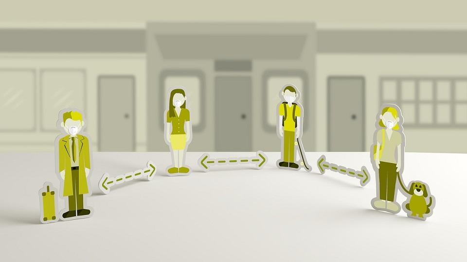 distancia social - federadiove