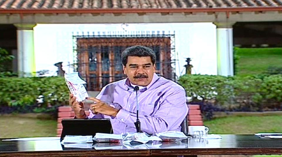 captura- Maduro