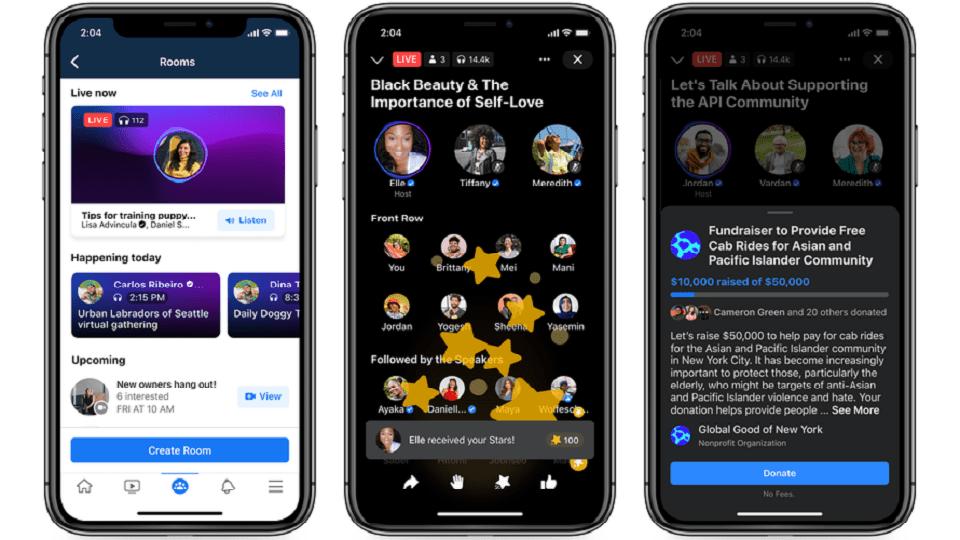 Live-Audio-Rooms-Facebook