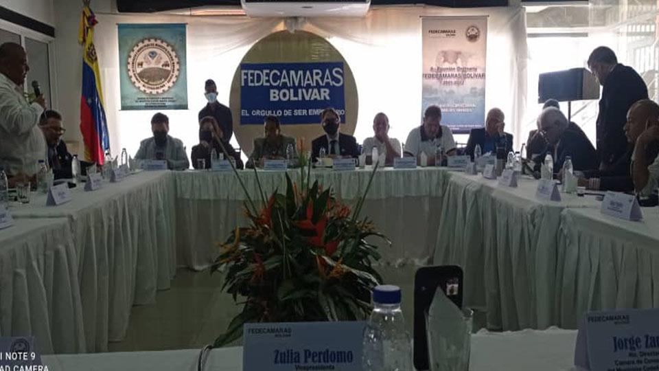 Encuentro empresarial en Bolívar