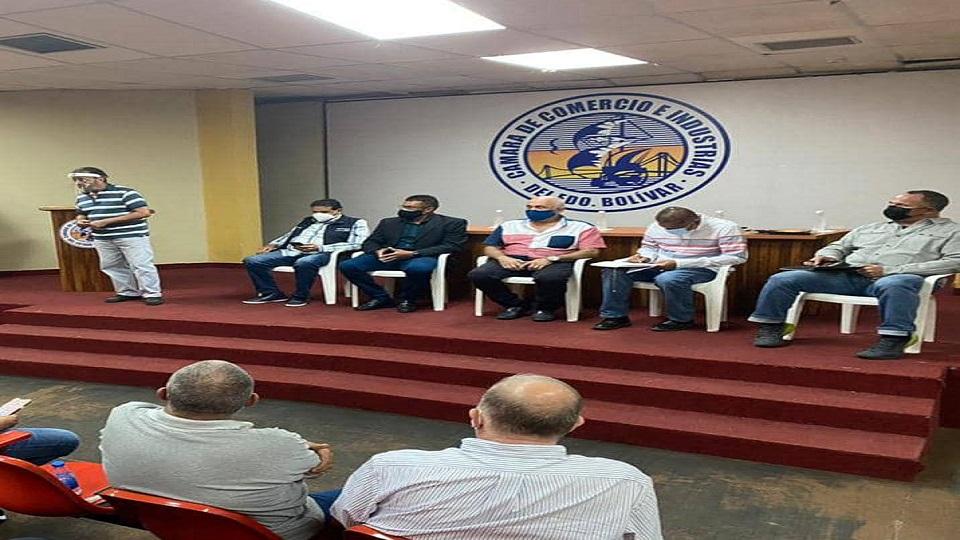 Fedecámaras Bolívar junto autoridades locales