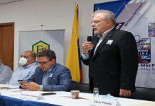 Felipe Capozzolo con Fedecámaras Táchira